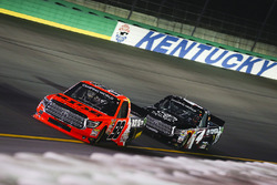 Grant Enfinger, ThorSport Racing Toyota and Christopher Bell, Kyle Busch Motorsports Toyota