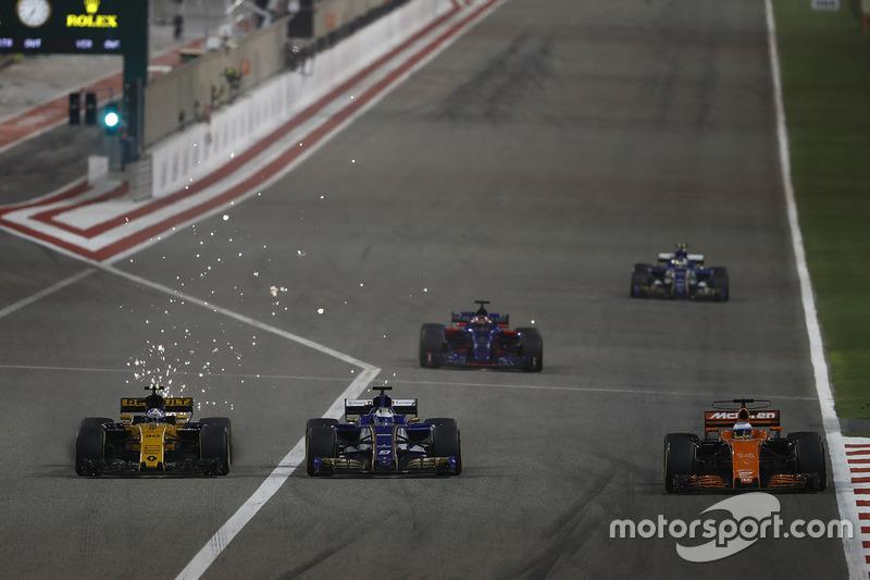 Giro 25 - Fernando Alonso, McLaren MCL32