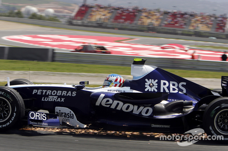 F1, Barcelona 2007: Alexander Wurz, Williams FW29