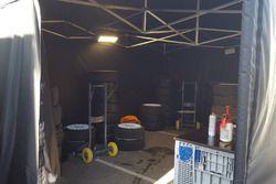 Hospitality Toyota Gazoo Racing, sezione preparazione pneumatici
