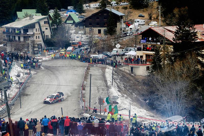 Juho Hänninen, Kaj Lindström, Toyota Racing, Toyota Yaris WRC