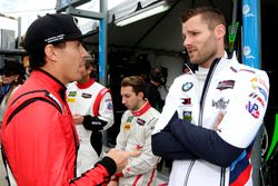 Robert Wickens, Starworks Motorsports and Martin Tomczyk, BMW Team RLL