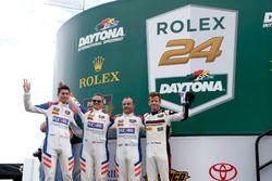 #54 CORE autosport Porsche 911 GT3R: Jon Bennett, Colin Braun, Nic Jonsson, Patrick Long