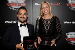 Alessandro Balzan and Christina Nielsen with Tudor Watches