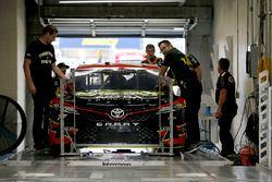 Erik Jones, Furniture Row Racing Toyota goes through inspection