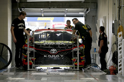 Erik Jones, Furniture Row Racing Toyota goes through inspection