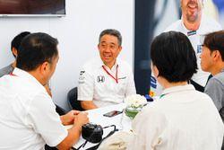 Masashi Yamamoto, directeur général de la division sports mécaniques, Honda Motor Co