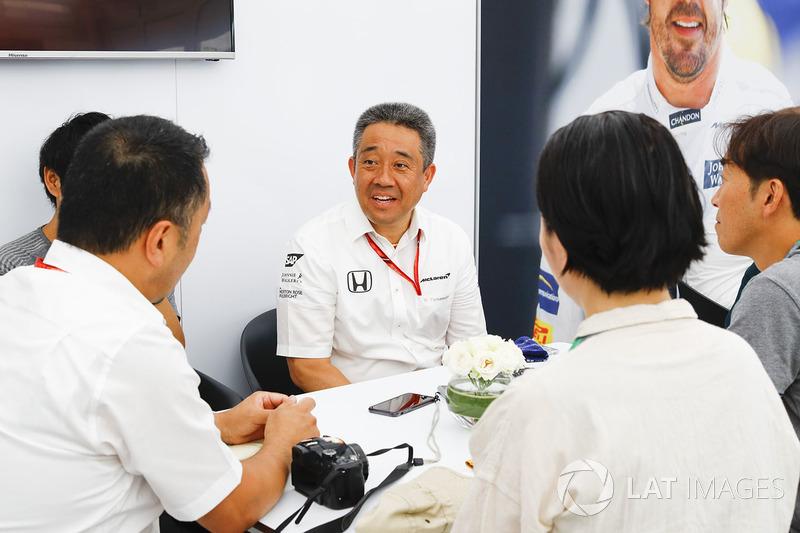 Masashi Yamamoto, General Manager of Motor Sports Division, Honda Motor Co