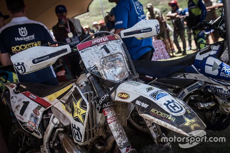 Moto del ganador Graham Jarvis