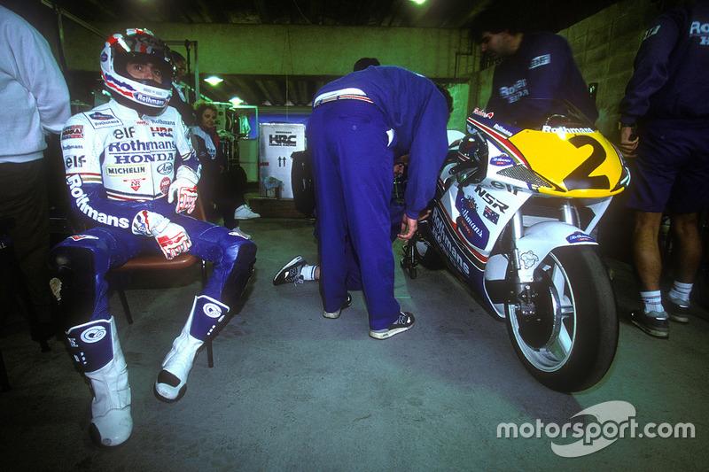 São Paulo (1992): Mick Doohan, Honda
