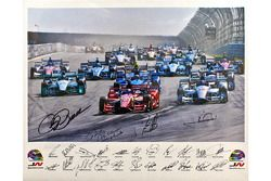 1 of 8 special prints being auctioned in aid of the Wilson Children's Fund