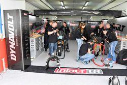 Garage of Team Dynavolt Intact GP