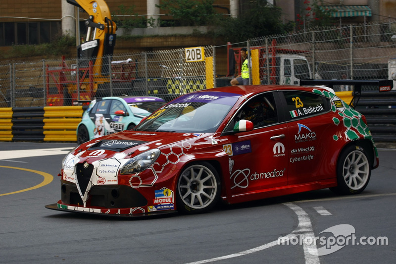 Andrea Belicchi, Mulsanne Racing Alfa Romeo Giulietta