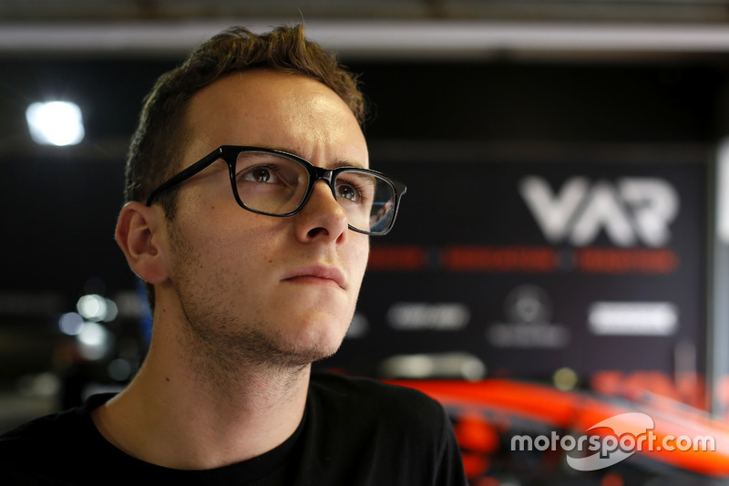 Anthoine Hubert, Van Amersfoort Racing Dallara Mercedes