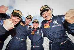Marco Pollara, Giuseppe Princiotto Paolo Andreucci e Anna Andreussi, Peugeot Sport Italia