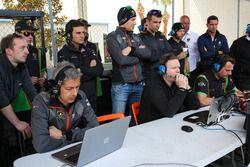 #11 GRT Grasser Racing Team Lamborghini Huracan GT3: Christian Engelhart, Rolf Ineichen, Richard Antinucci with team members