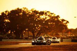 #10 Wayne Taylor Racing Cadillac DPi: Ricky Taylor, Jordan Taylor, Alex Lynn;#5 Action Express Racing Cadillac DPi: Joao Barbosa, Christian Fittipaldi, Filipe Albuquerque