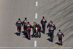 The team of Ryan Newman, Richard Childress Racing Chevrolet celebrate