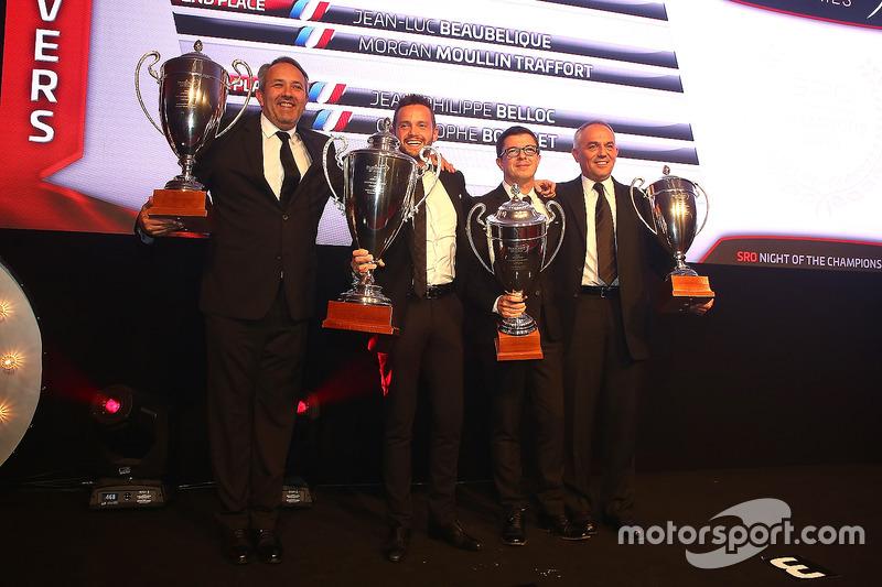 2016 Sprint Cup Pro-AM Cup Drivers, Giacomo Piccini, champion, Jean-Luc Beaubelique, 2nd place, Jean