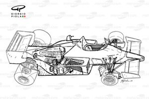 Alfa Romeo 185T 1985, panoramica dettagliata