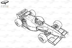 Vue d'ensemble de la McLaren MP4-10