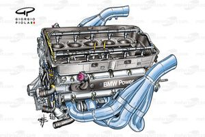 Williams FW26 2004 engine detail