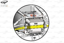 Mercedes W02 steering column