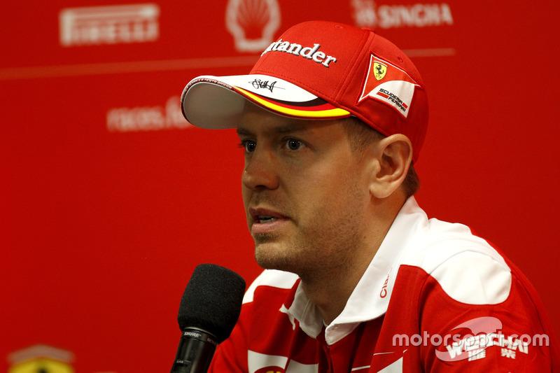 Conferencia de prensa: Sebastian Vettel, Ferrari