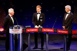 Formel-1-Weltmeister Nico Rosberg, Mercedes AMG F1, mit Damon Hill