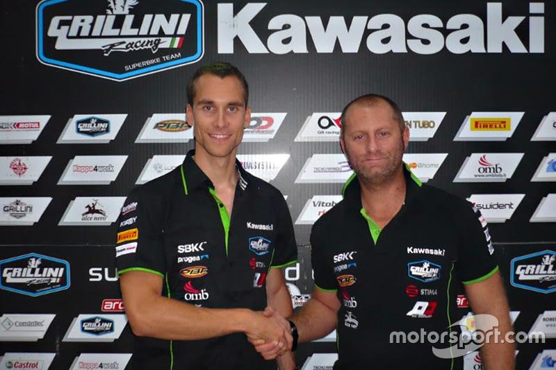 Ondrej Jezek, Andrea Grillini, Grillini team manager