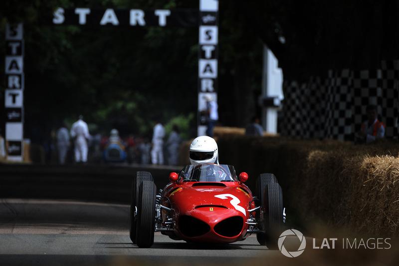 Derek Hill, Ferrari 156