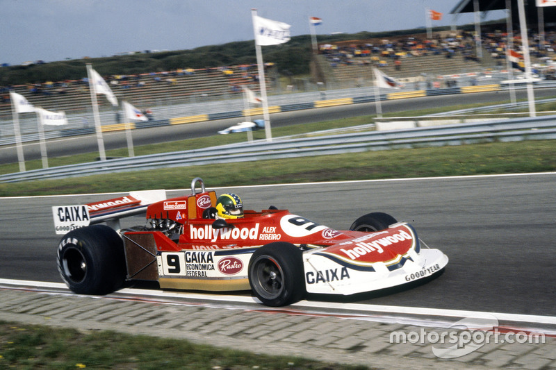 Alex Ribeiro, March 761B-Ford