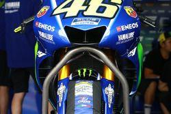 Valentino Rossi, Yamaha Factory Racing, le alette inglobate nella carena della M1