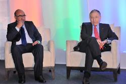 Akbar Ebrahim, FMSCI president met Jean Todt, FIA president