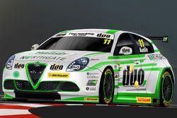 Alfa Romeo Giulietta команды Handy Motorsport