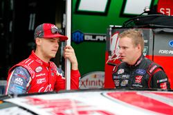 Ryan Reed, Roush Fenway Racing Ford and Cole Custer, Stewart-Haas Racing Ford
