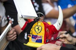 Une casquette de fans