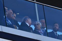 Vladimir Putin, Presidente de Rusia, Bernie Ecclestone