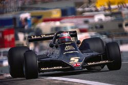 Mario Andretti in the new Lotus 79