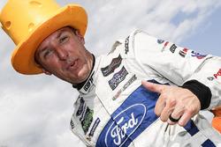 GTLM podium: winner Joey Hand, Chip Ganassi Racing Ford