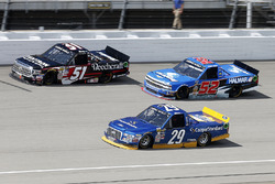 Chase Briscoe, Brad Keselowski Racing Ford, Kyle Busch, Kyle Busch Motorsports Toyota