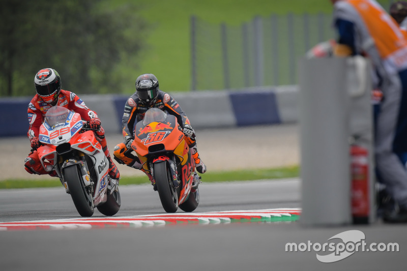 Jorge Lorenzo, Ducati Team, Mika Kallio, Red Bull KTM Factory Racing