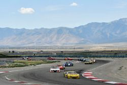 #31 TR3 Racing Ferrari 488 GT3: Daniel Mancinelli, Niccolo Schiro, #43 RealTime Racing Acura NSX GT3: Ryan Eversley, Tom Dyer