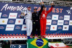 Podium: 2. Marko Stipp, Racing Total, 1. Marconi Abreu, RDV Competition, 3. Sam Taheri, Dog Racing