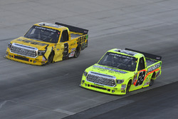 Matt Crafton, ThorSport Racing Toyota, Cody Coughlin, ThorSport Racing Toyota