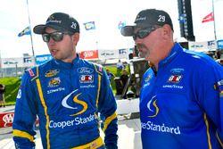 Chase Briscoe, Brad Keselowski Racing, Ford, mit Mike Hillman Jr
