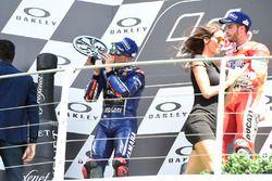 Podium: Maverick Viñales, Yamaha Factory Racing
