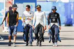 Jean-Eric Vergne, Techeetah, Sébastien Buemi, Renault e.Dams,Stéphane Sarrazin, Techeetah, Nicolas P
