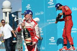 Lucas di Grassi, ABT Schaeffler Audi Sport, Felix Rosenqvist, Mahindra Racing, and Nick Heidfeld, Ma
