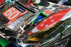 #60 Clearwater Racing Ferrari 488 GTE detail